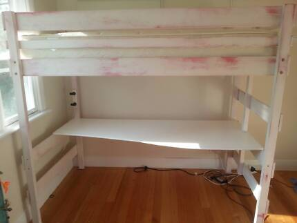 Bunkers King Single Loft Bed Camberwell Boroondara Area Preview