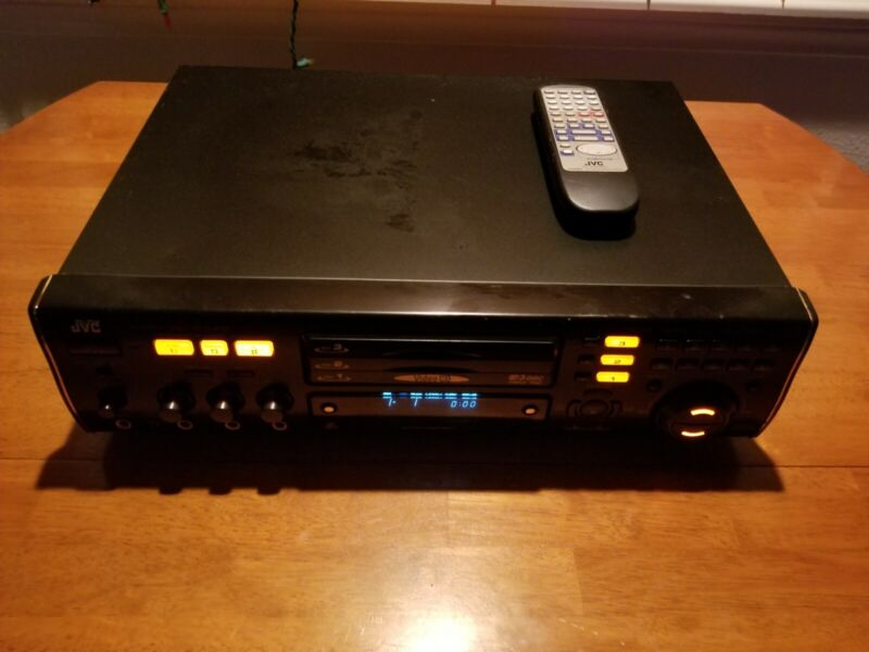 JVC XL-MV303BK 3 Disc Karaoke Video VCD CD Player Changer NTSC & PAL w/Remote!