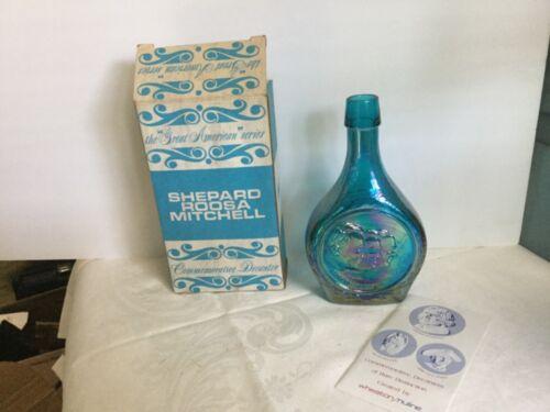 Vintage Glass Wheaton Decanter Bottle ~ Shepard Roosa Mitchell