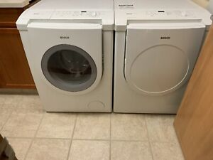 Bosch Nexxt high efficiency washer and dryer set