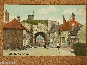 Vintage-Postcard-Old-Gateway-Rye-Wales