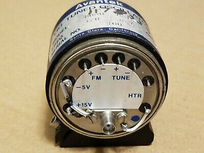 Avantek Hp S080-0215 11783399 Rf Microwave 4.0-8.7ghz Yig Tuned Oscillator 400