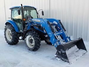 2016 New Holland T4.75 Tracteur loader .