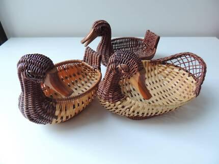 Duck basket bowl / collector - $5 each
