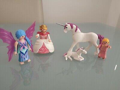 Playmobil Fairies - Fairy & Unicorn Baby  Queen  Set