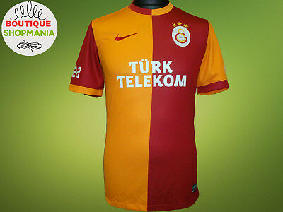 GALATASARAY HOME 2013-2014 (S) NIKE FOOTBALL SHIRT Jersey Trikot Camisa Soccer for sale  Shipping to Canada