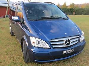 2011 Mercedes-Benz Viano Wagon Sydney City Inner Sydney Preview