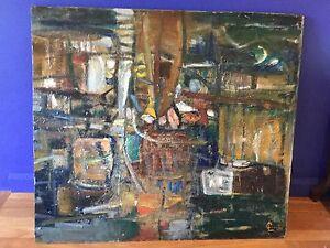 Original painting by L Curtis Mosman Mosman Area Preview