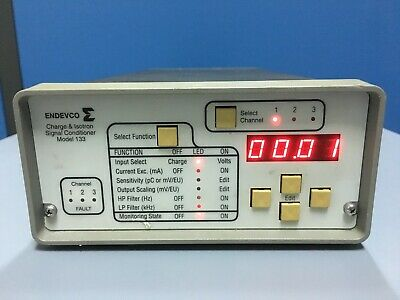 Endevco 133 Charge Isotron Signal Conditioner