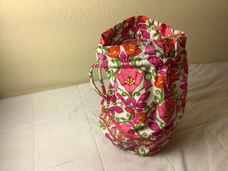 Vera Bradley Ditty Bag Travel Make Up Lilli Bell MINT