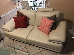 Leather 2 Seater Beverley Park Kogarah Area Preview