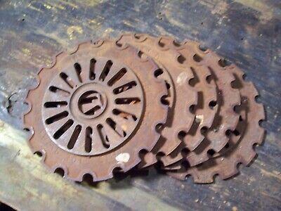 1 Vintage Cast Iron Ih Planter Plate 1855a International Harvester Lot N5