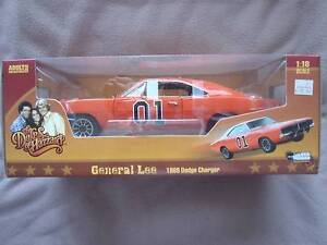 The Dukes Of Hazzard GENERAL LEE 1969 Dodge Charger 1:18 Car Sunshine West Brimbank Area Preview