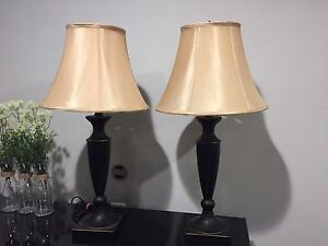Table Lamps - like new