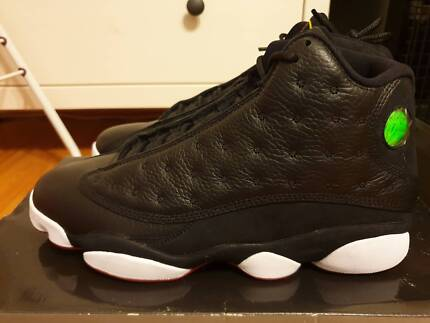 new arrival 152d1 1df6c 2011 Nike Air Jordan 13 Retro Playoff Size 10 Black Wh
