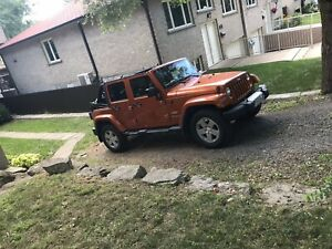 Jeep Wrangler Sahara Unlimited 2011