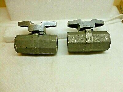 1 Npt Hills Mccanna Rockwell S.s. Full Port Ball Valve M-502-s6-r-s6 C201