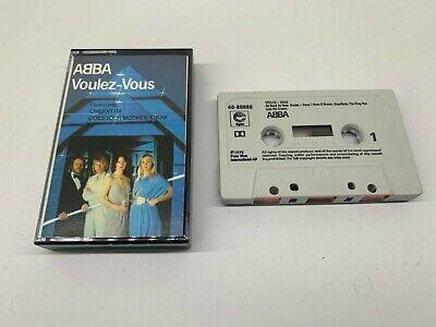 Abba Cassette - Voulez Vous - Epic Label - 1979