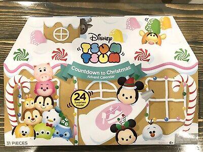 Disney Tsum Tsum Countdown to Christmas Advent Calendar [2016] New IN Box Sealed