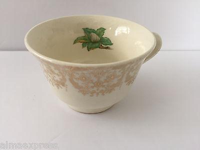 Stetson China CAMILLE Gold Filigree, White Flower Center - TEA CUP Stetson Center