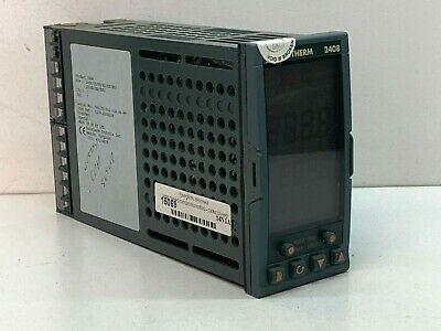 Eurotherm 2408ccvhh2 Process Temperature Control Controller Orange Buttons