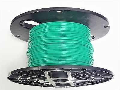 16 Gauge Wire Green 250 Ft On A Spool Primary Awg Stranded Copper Power Mtw