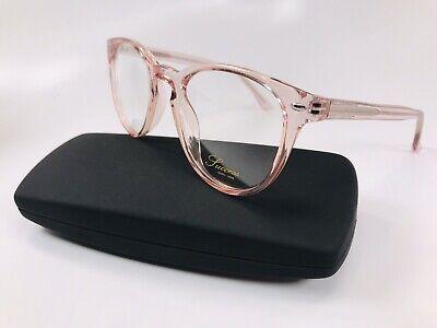 New Designer Inspired SUCCESS SS-123 Crystal Pink Eyeglasses 50mm with (Knock Off Designer Eyeglass Frames)