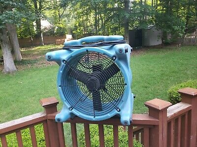 Excellent Operating Refurbished Dri-eaz Ace Turbodryer F259 Fan Cleaned Tested