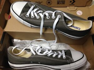 Converse Chuck Taylor OX Shoes - Charcoal - Sz9- BRAND NEw