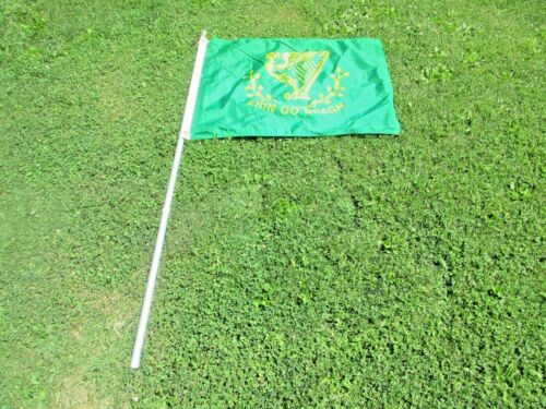 """Erin Go Bragh"" & Harp 24""x34"" Ireland Nylon Flag 3"