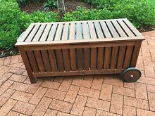 Outdoor storage seat Huntleys Cove Hunters Hill Area Preview