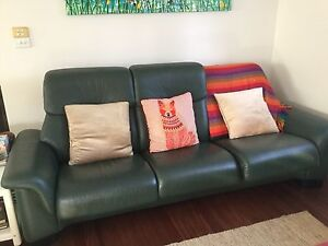 Stressless 3 seater high back lounge. Burwood Heights Burwood Area Preview