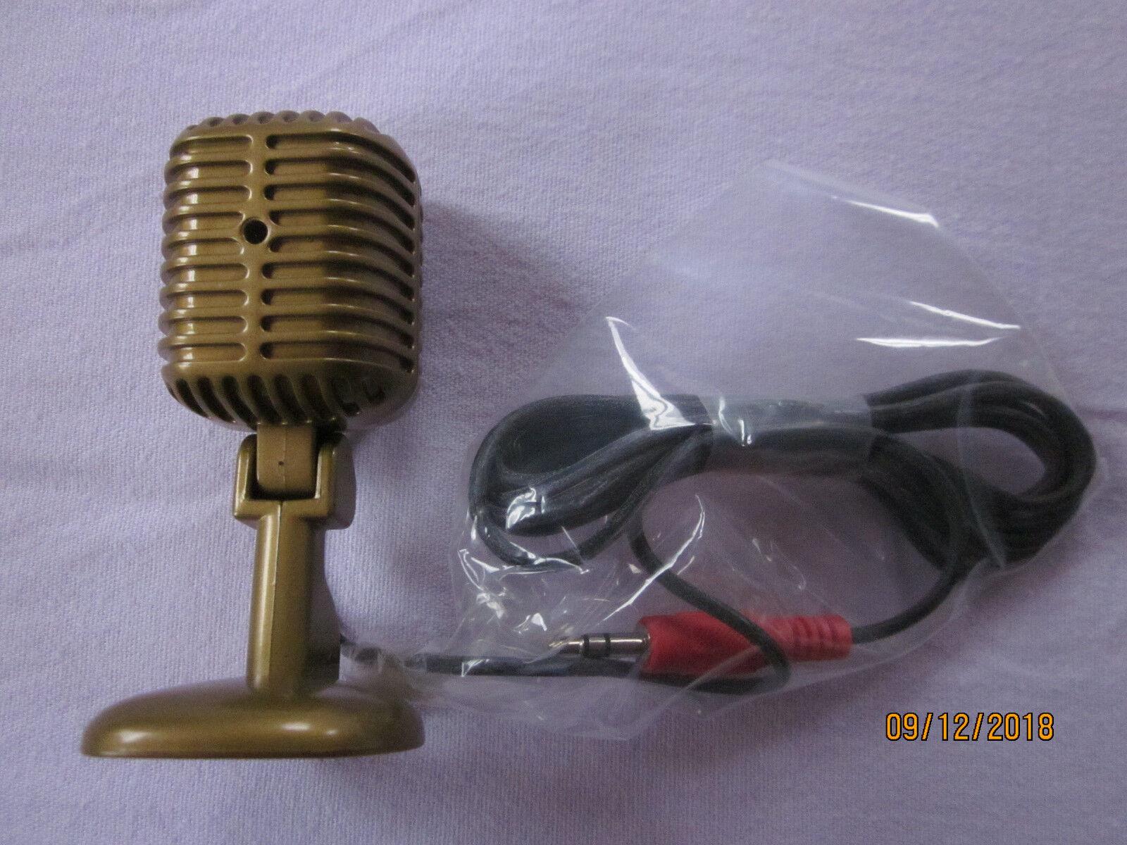 50er-Jahre-Mikrofon für Computer