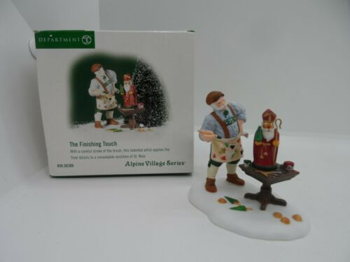 Dept 56  Alpine Christmas Village The Finishing Touch  Accessory  St Nicholas