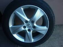 """Honda Accord Euro 17"""" ALLOYS AND TYRES- SET OF 4 Mount Gravatt Brisbane South East Preview"""