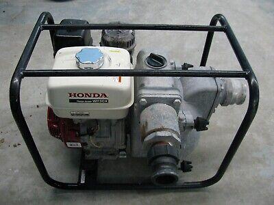Honda Wt30x 3 Inch Trash Mud Pump With Honda Motor Great Shape