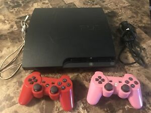 PLAYSTATION 3 with 2 controller and 6 games