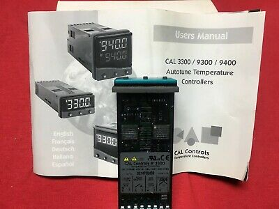 Cal Controls 3300 Temperature Pid Controller 33000000 New In Box