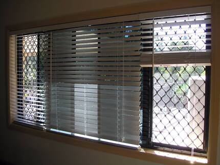 White 50 mm Wood Venetian Blinds Nerang Gold Coast West Preview