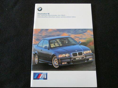 1999 BMW GERMAN M3 Coupe M 3 E36 Z3 M Roadster Brochure SMG & Individual Catalog