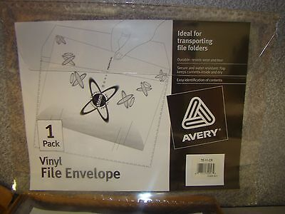 Avery Vinyl File Envelope Te-11-cr Qty Of 11