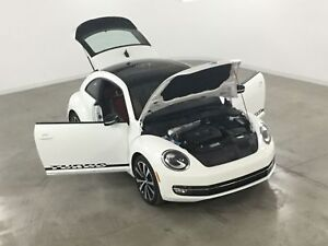 2013 Volkswagen Beetle Coupe 2.0T Turbo*Cuir Rouge*Toit Panorami