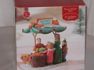 "NEW St. Nicholas Square ""Farmers Market""  From The Christmass Village Collection"
