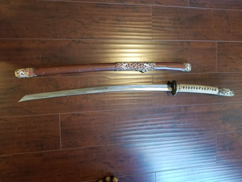 antique japanese samurai sword