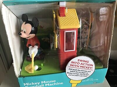 Vntg Mickey Mouse Gumball Machine *New in Box* *NEVER OPENED* mickey unlimited