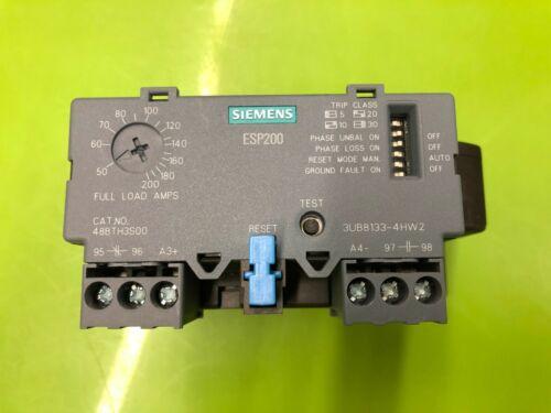 Siemens 48BTH3S00 50-200A Overload Relay 50-200A 600V ESP200