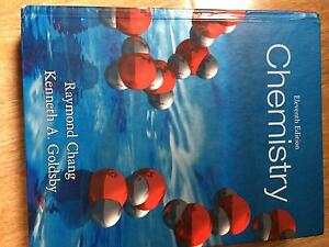 Chemistry 11th edition by Raymond Chang & Kenneth A Glodsby Lynbrook Casey Area Preview