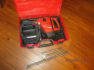 Hilti Te 60 Atcavr Sds-max 115vac Hammer Chipping W Bits Kit Combo 1026