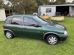 1999 Holden Barina Swing 4 Sp Automatic 5d Hatchback