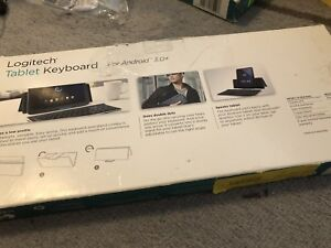 Brand new Logitech Bluetooth keyboard with case/stand